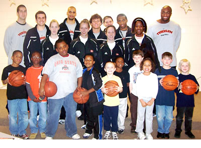 Basketball reading program