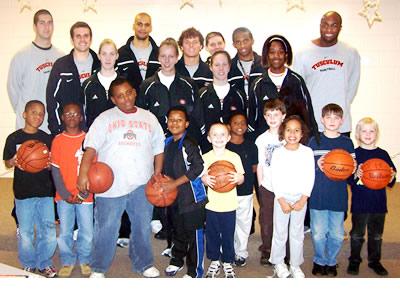 Basketball reading program